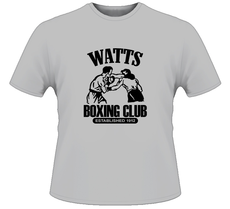 Watts Boxing Club Boxing T Shirt