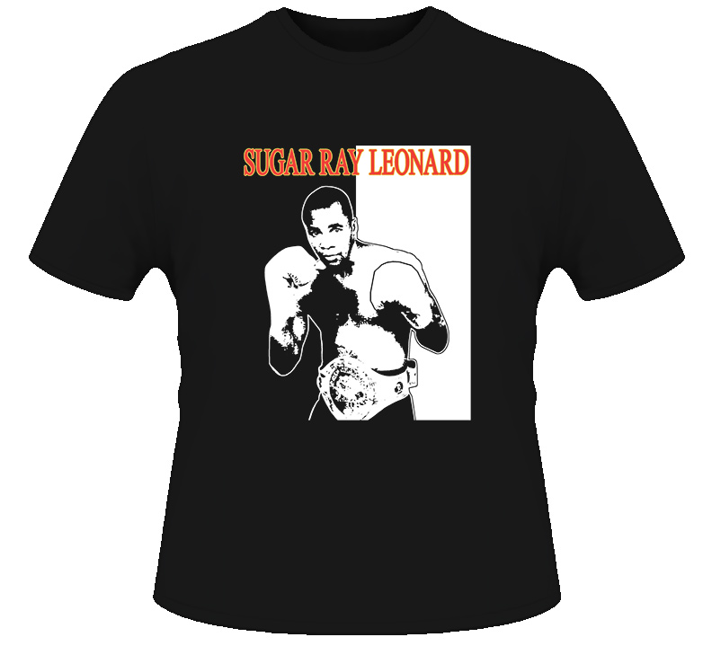 Sugar Ray Leonard Champion Boxing Legend Boxing T Shirt