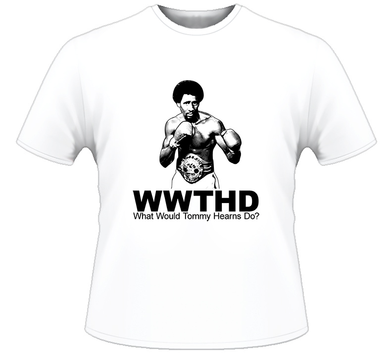 WWJD Tommy The Hitman Hearns Boxing T Shirt