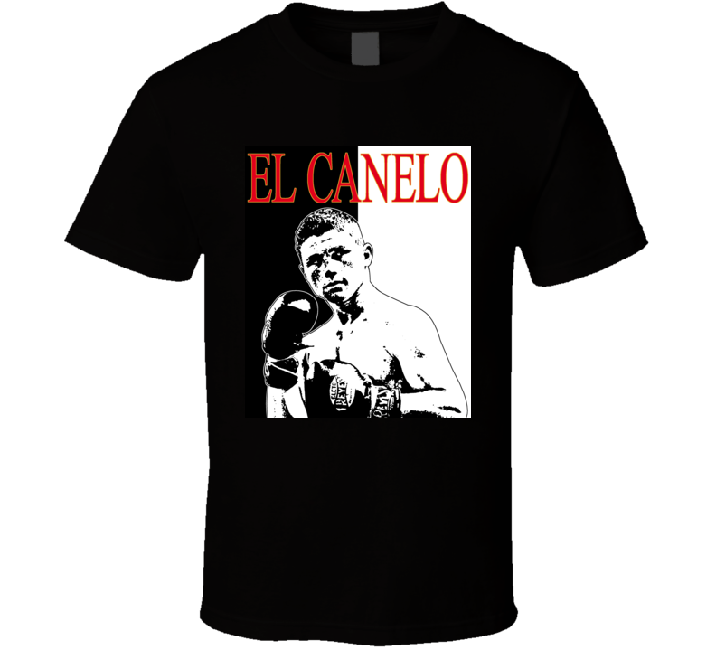Saul Alvarez El Canelo Mexico Champion Boxing T Shirt