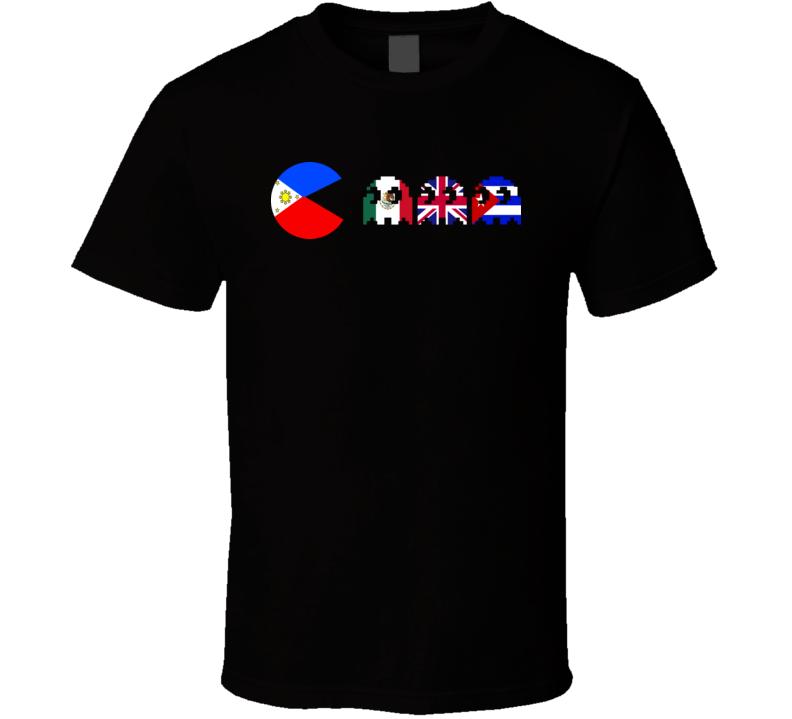Manny Pacquiao Pac Man Classic Boxing T Shirt