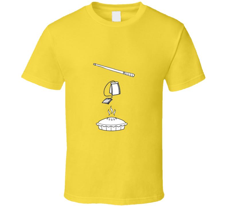 Cue Tea Pie T Shirt