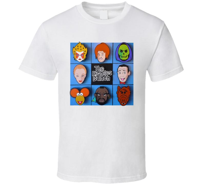 The Eighties Bunch T Shirt