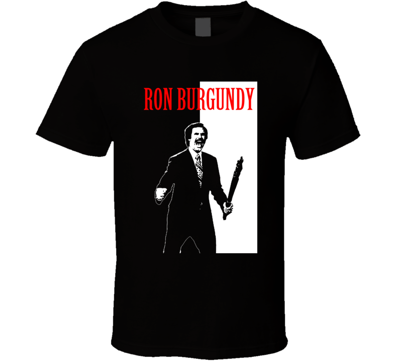 Anchorman Ron Burgundy T Shirt