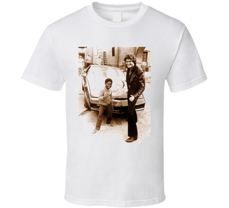 Gary Coleman Knight Rider T Shirt