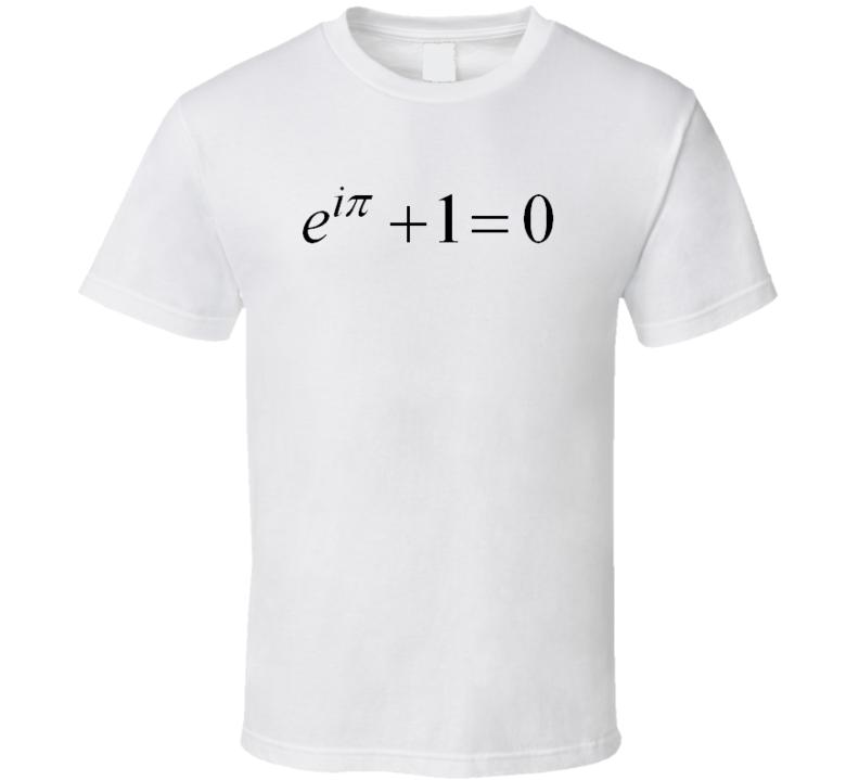 Euler's Equation Math T-shirt