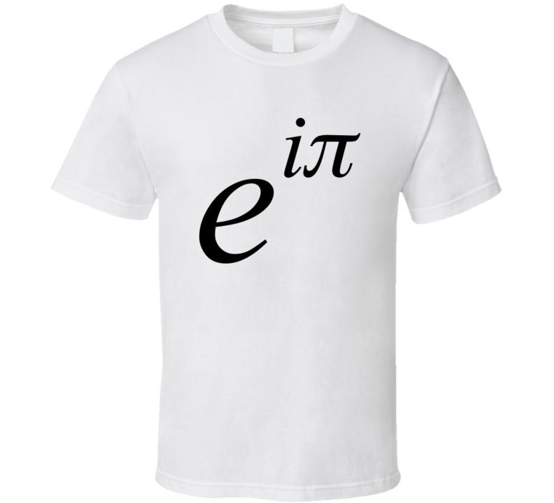 Euler's Large Math T-shirt
