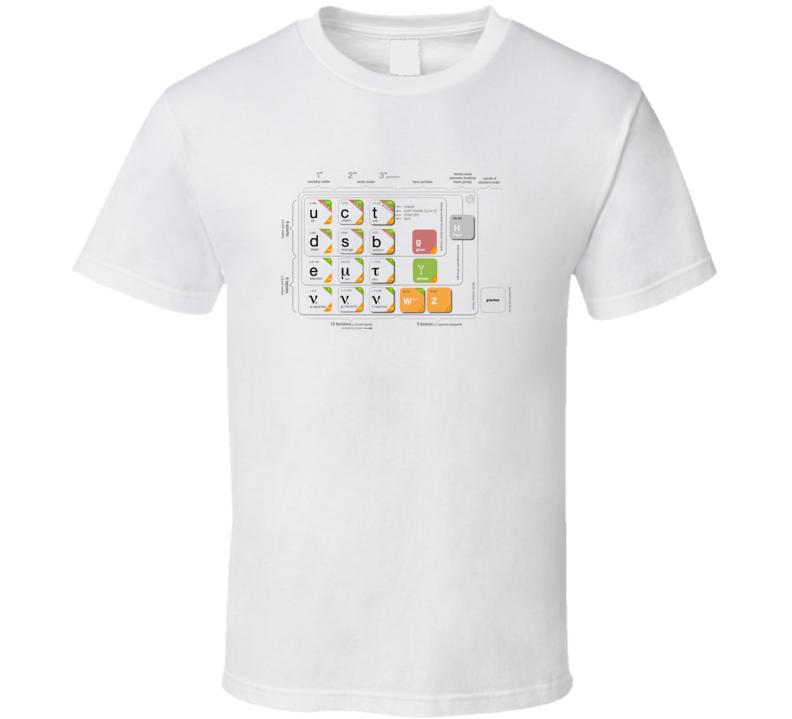 Standard Model Particle Physics T-shirt
