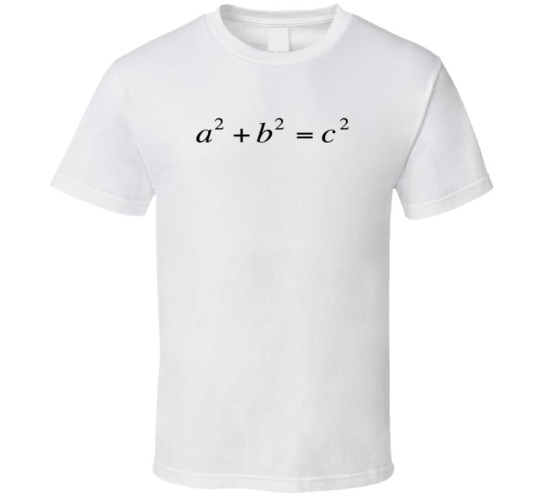 Pythagorean Theorem Math T-shirt