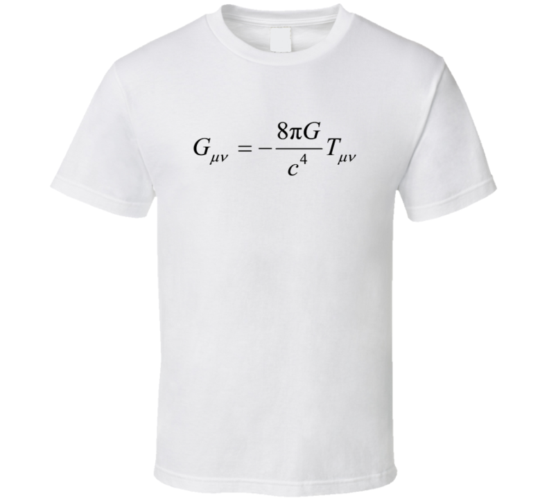 General Relativity Physics T-shirt