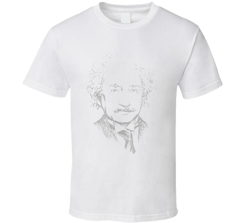 Einstein Physicist picture T-shirt
