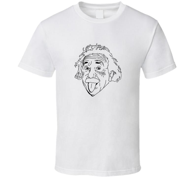 Einstein Face Physicist T-shirt