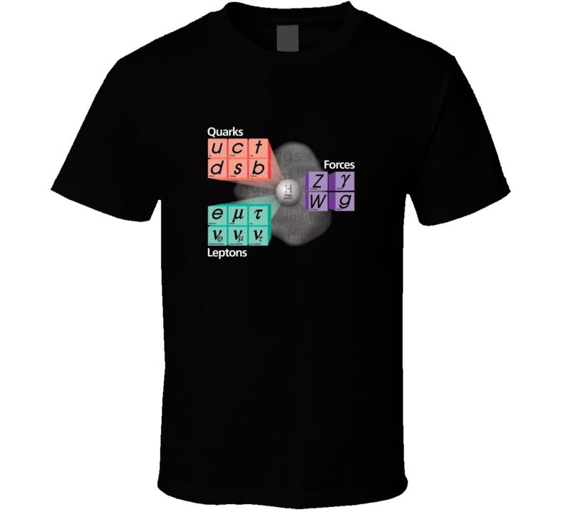 Particle Physics Standard Model T-shirt