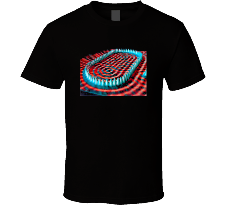 Quantum Mechanics Scanning Tunneling Microscope Physics T-shirt
