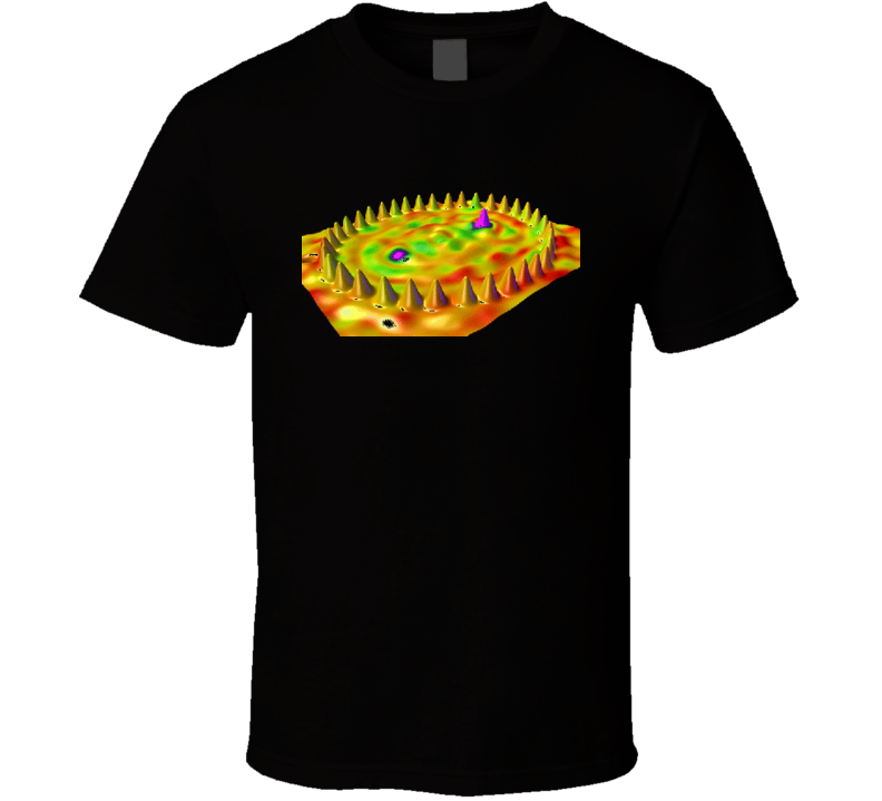 Scanning Tunneling Microscope Quantum Mechanics Physics T-shirt
