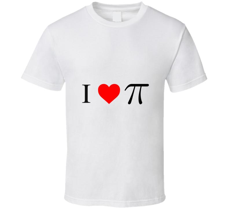 I Heart PI T Shirt
