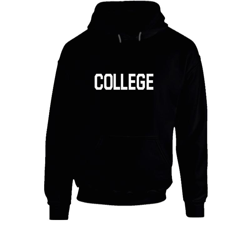John Belushi College Hoodie