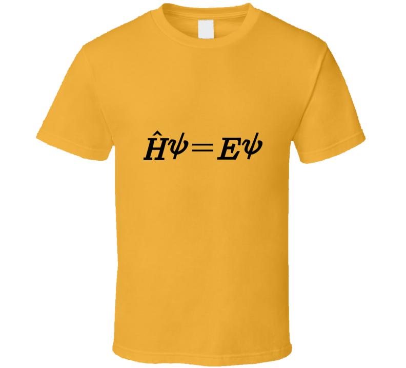 Time-Independent Schrodinger Equation T Shirt