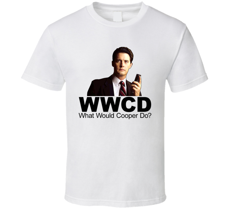 Agent Dale Cooper Twin Peaks T Shirt