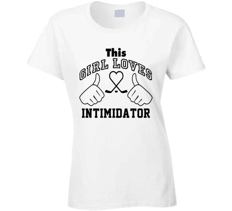 This Girl Loves Intimidator Wade Belak Hockey Sports Nickname T Shirt
