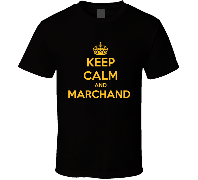 Keep Calm And Brad Marchand Carry On Parody Boston T Shirt