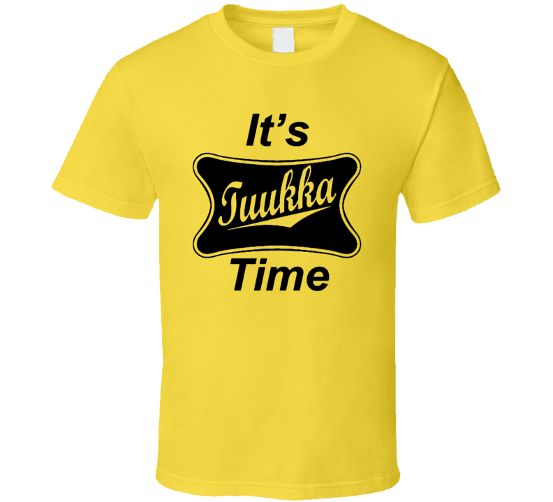 Its Tuukka Time Boston Tuukka Rask Hockey Player T Shirt