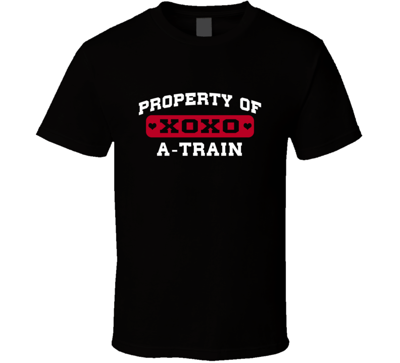Property Of A-Train Mike Alstott Love Football Player Nickname T Shirt
