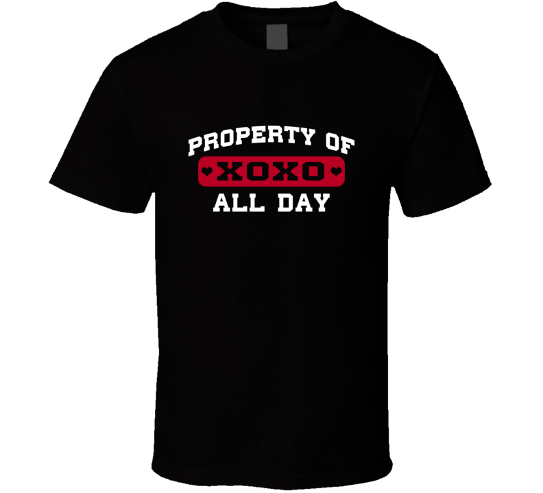 Property Of All Day Adrian Peterson Love Football Player Nickname T Shirt