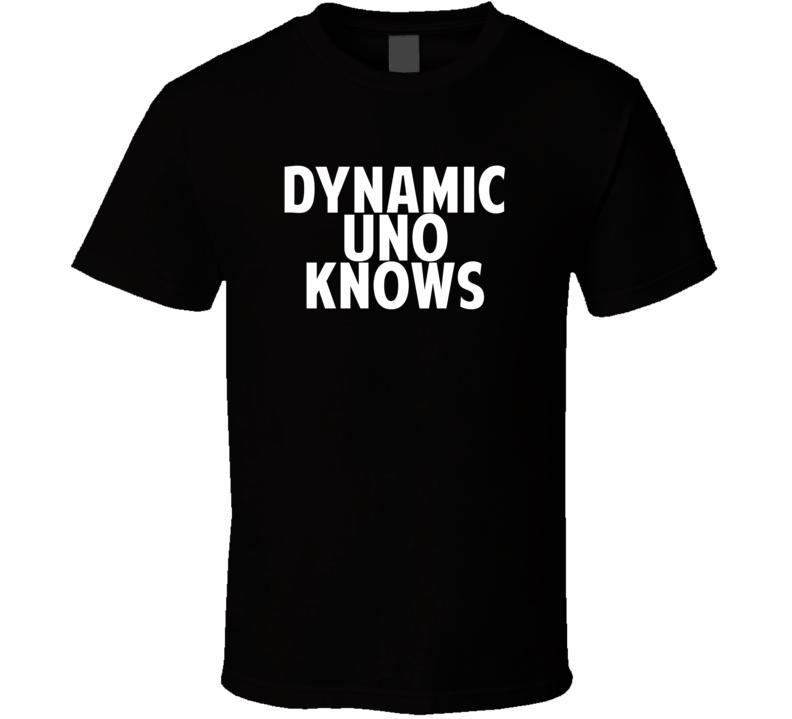 Dynamic Uno David Wilson Knows Parody Football Player Nickname T Shirt
