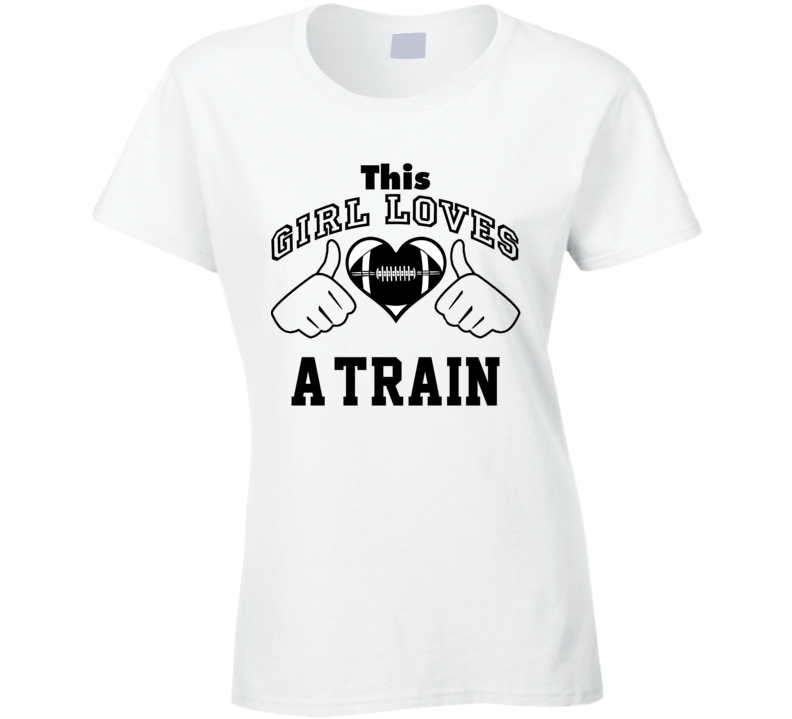 This Girl Loves A-Train Mike Alstott Football Player Nickname T Shirt