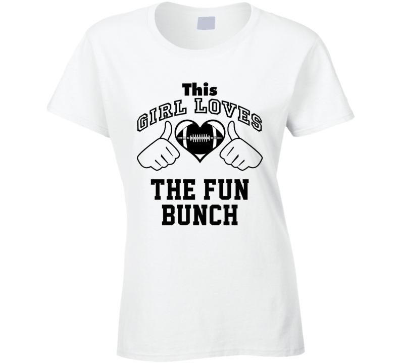 This Girl Loves Fun Bunch Washington Football Football Player Nickname T Shirt