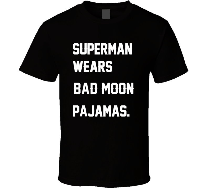 Wears Bad Moon Andre Rison Pajamas Football Player Nickname T Shirt