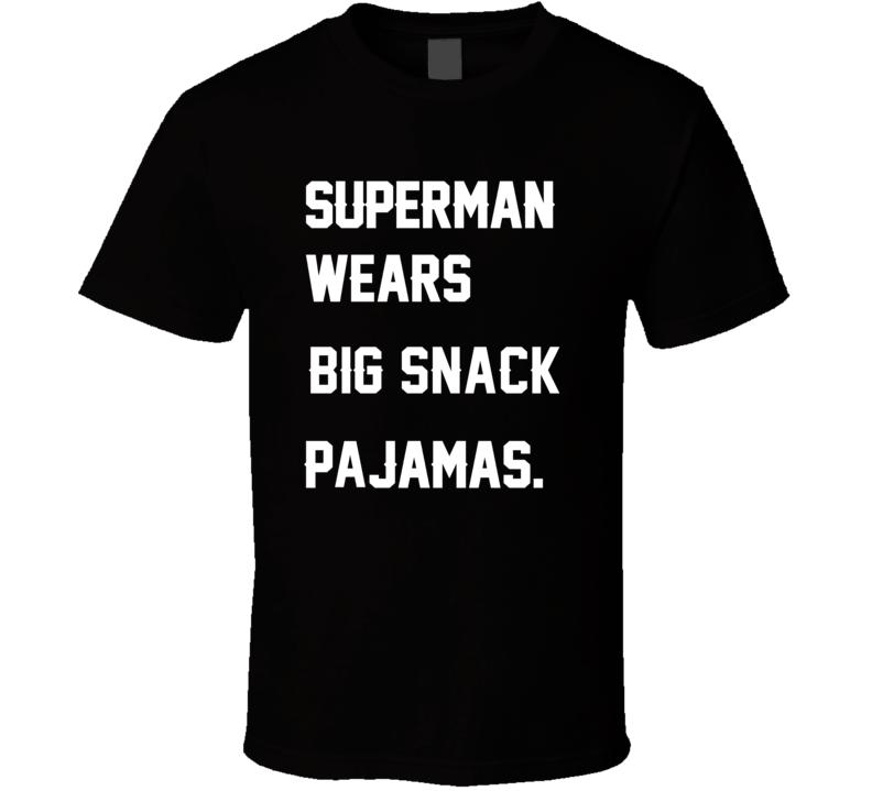 Wears Big Snack Casey Hampton Pajamas Football Player Nickname T Shirt