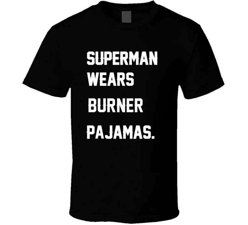 Wears Burner Michael Turner Pajamas Football Player Nickname T Shirt