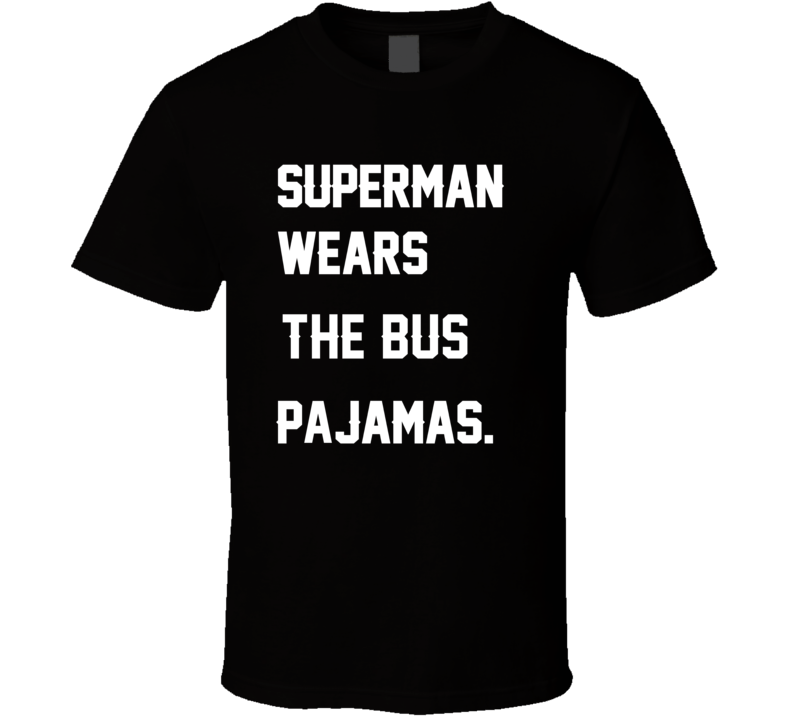 Wears Bus Jerome Bettis Pajamas Football Player Nickname T Shirt