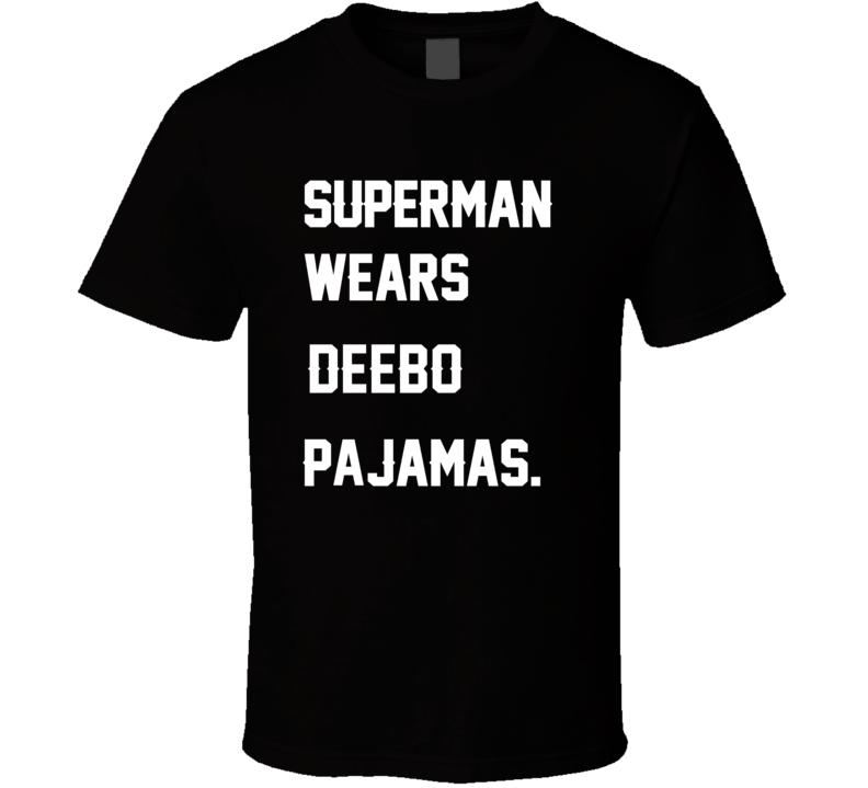 Wears Deebo James Harrison Pajamas Football Player Nickname T Shirt