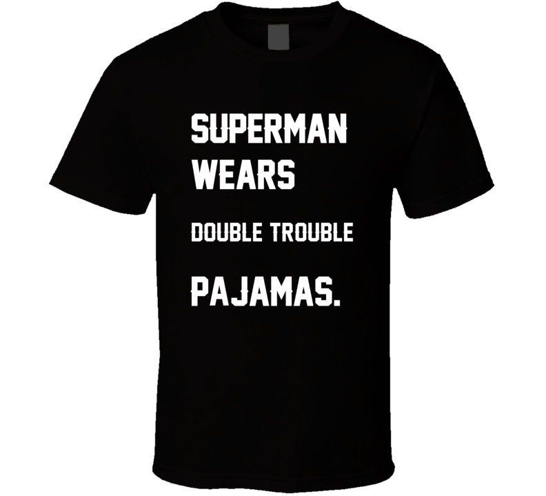 Wears Double Trouble DeAngelo Williams Jonathan Stewart Pajamas Football Player Nickname T Shirt