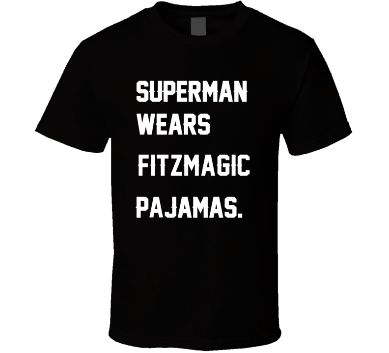 Wears Fitzmagic Ryan Fitzpatrick Pajamas Football Player Nickname T Shirt