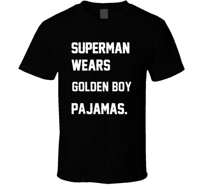 Wears Golden Boy Paul Hornung Pajamas Football Player Nickname T Shirt
