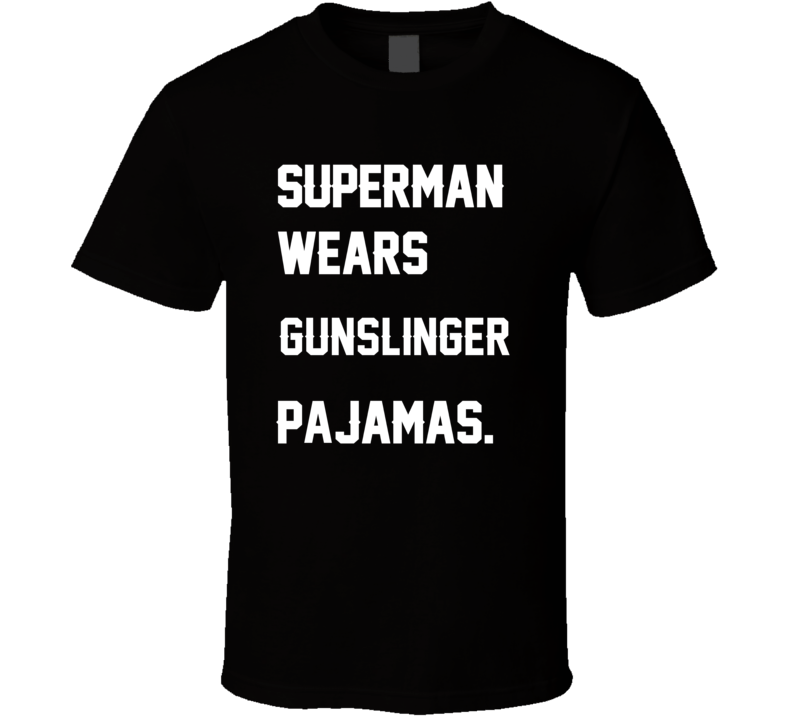 Wears Gunslinger Brett Favre Pajamas Football Player Nickname T Shirt