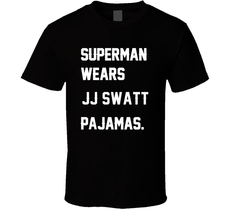 Wears J.J. Swatt J.J. Watt Pajamas Football Player Nickname T Shirt