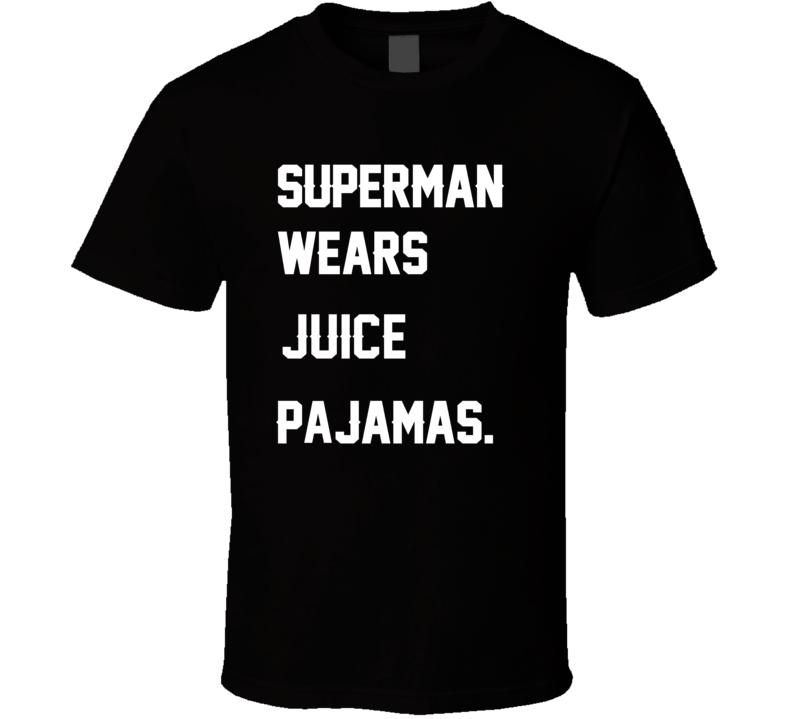 Wears Juice O. J. Simpson Pajamas Football Player Nickname T Shirt