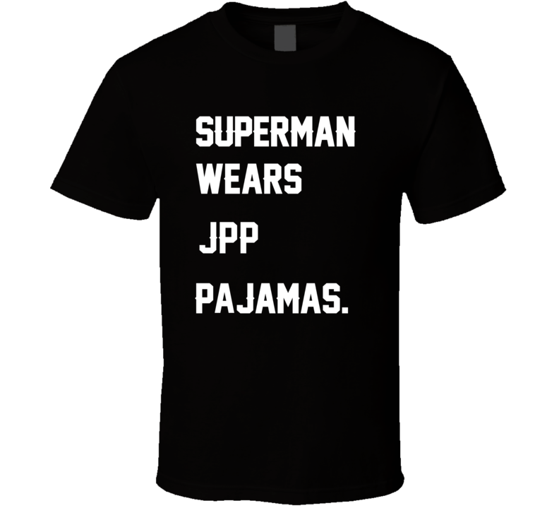 Wears JPP Jason Pierre-Paul Pajamas Football Player Nickname T Shirt