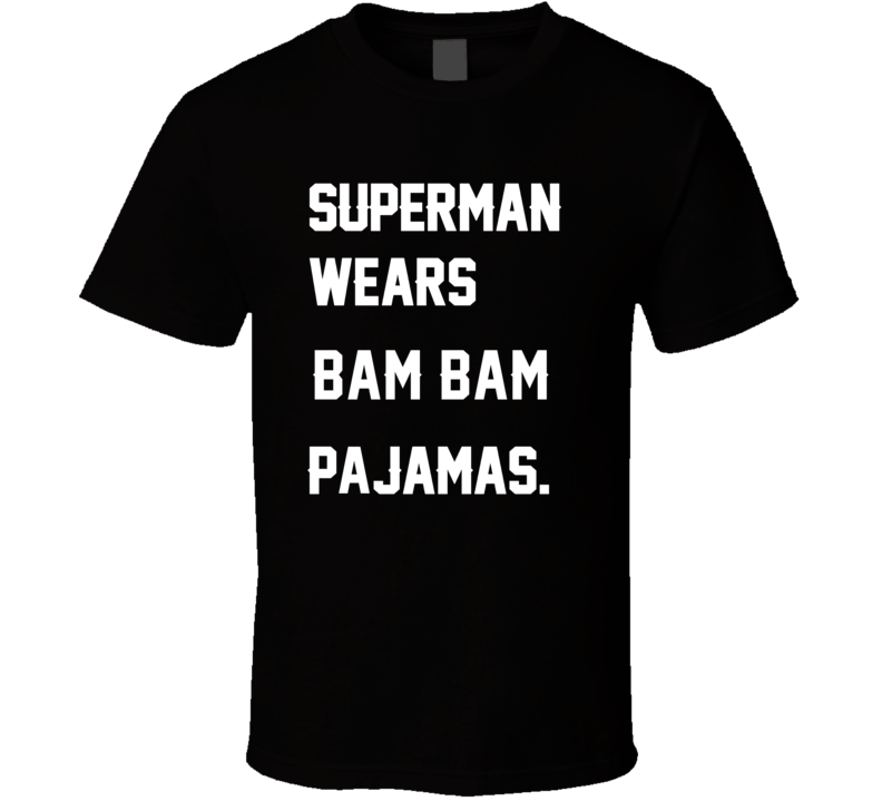 Wears Bam Bam Kam Chancellor Pajamas Football Player Nickname T Shirt