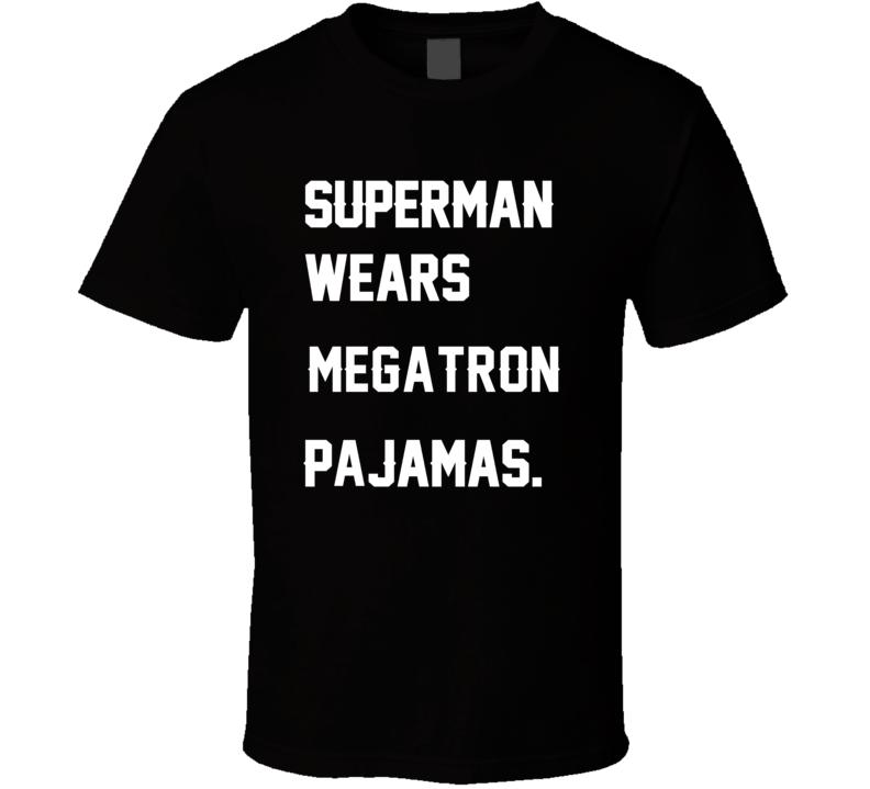 Wears Megatron Calvin Johnson Pajamas Football Player Nickname T Shirt