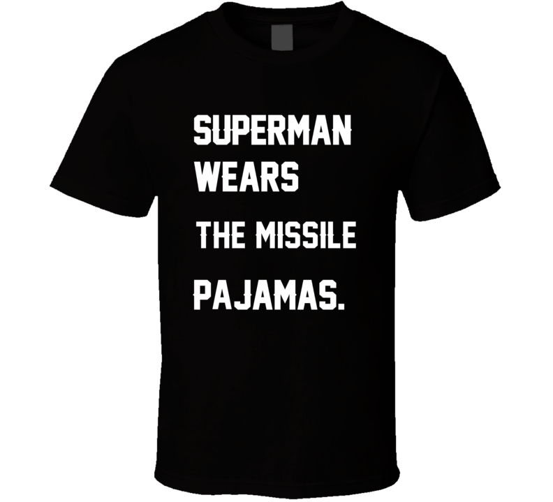 Wears Missile Qadry Ismail Pajamas Football Player Nickname T Shirt