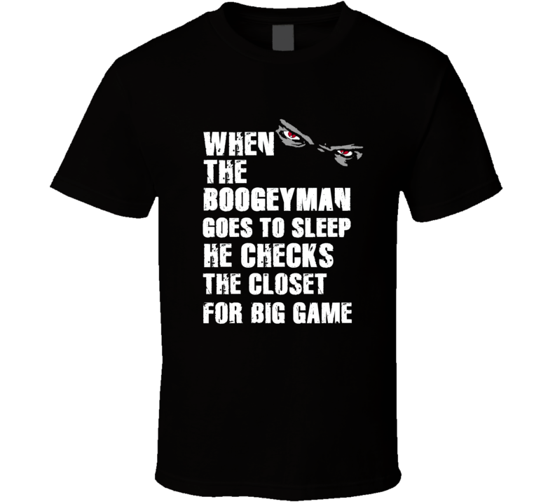 Boogeyman Big Game Torry Holt Sports Football Player Nickname T Shirt