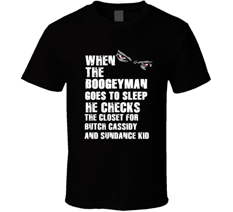 Boogeyman Butch Cassidy and Sundance Kid Larry Csonka Jim Kiick Sports Football Player Nickname T Shirt