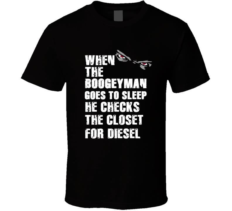 Boogeyman Diesel John Riggins Sports Football Player Nickname T Shirt