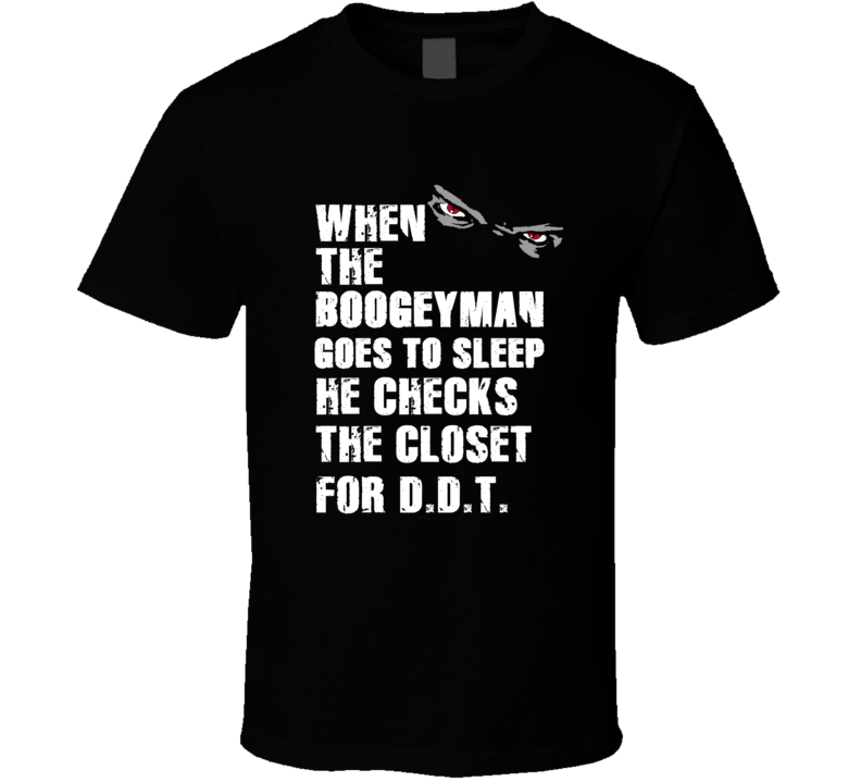 Boogeyman D.D.T. Derrick Thomas Sports Football Player Nickname T Shirt